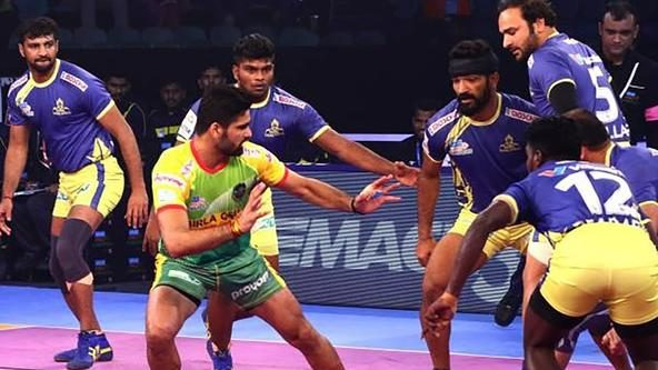 Thakur, Pardeep star as Tamil Thalaivas and Patna Pirates play out a tie