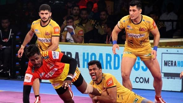 Gujarat Fortunegiants leave it late to score a thrilling victory