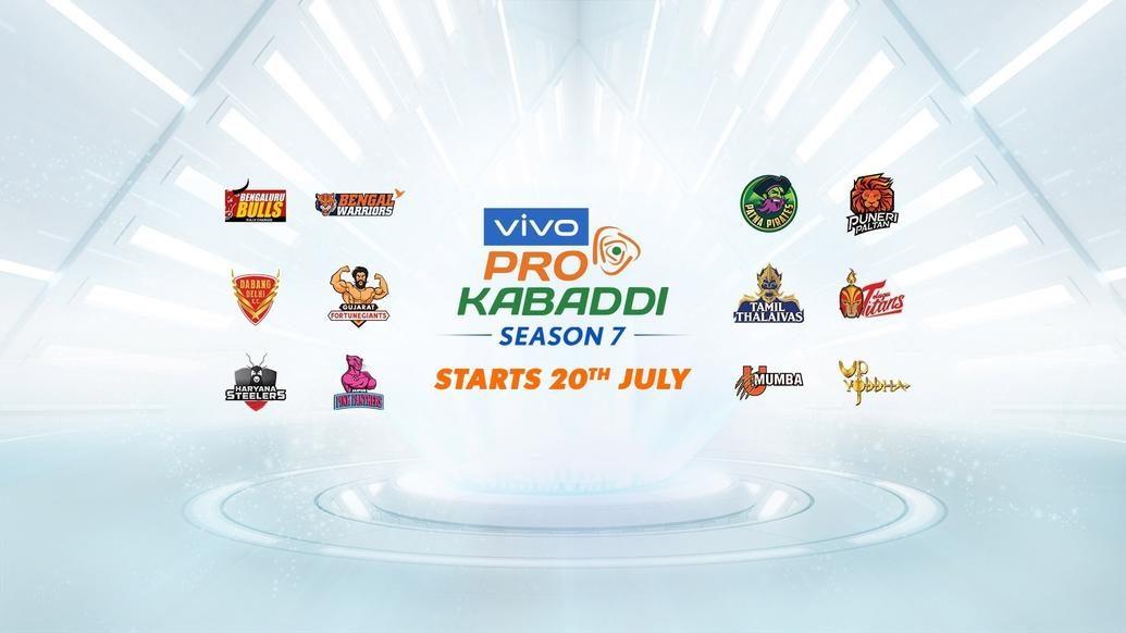 Start date of VIVO Pro Kabaddi Season VII announced