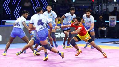 Match 112: Gujarat Fortunegiants vs Tamil Thalaivas