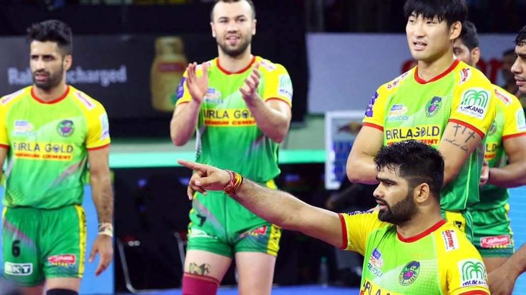 Proficient performances from Pardeep and Neeraj power Patna Pirates to victory