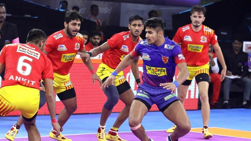 Match 20: Gujarat Fortunegiants vs Dabang Delhi K.C.