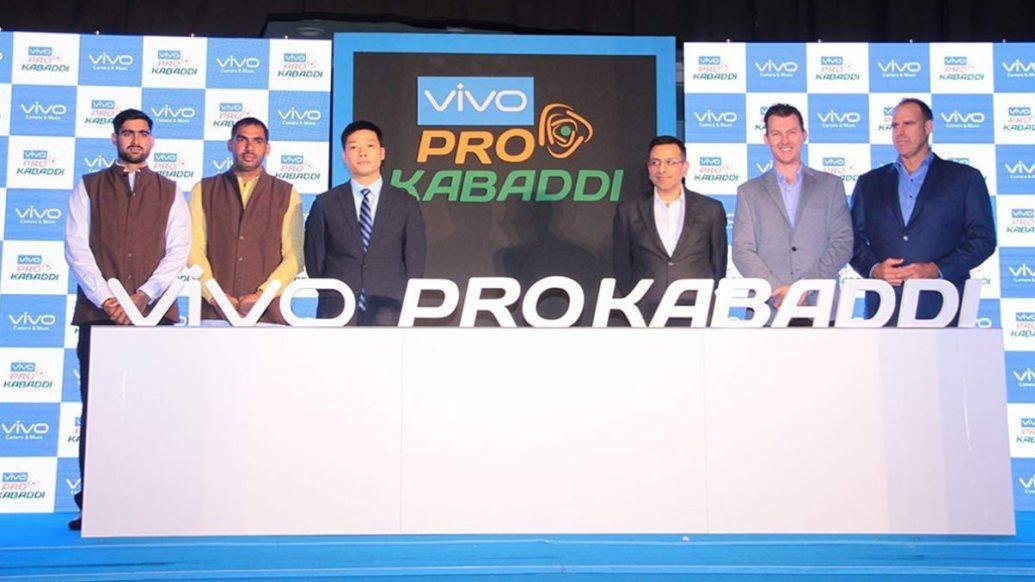 Pro Kabaddi and VIVO sign landmark 5 Year Title Sponsorship Deal