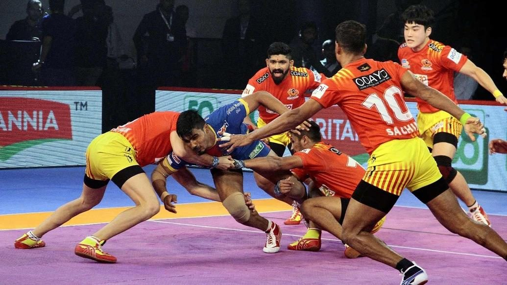 Second half rally from U.P. Yoddha falls short as Gujarat Fortunegiants remain unbeaten at home