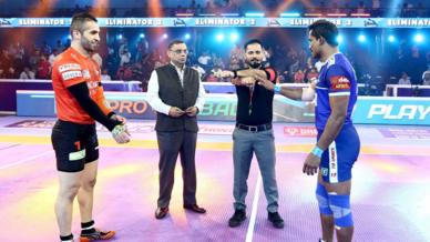 Eliminator 2: U Mumba vs Haryana Steelers
