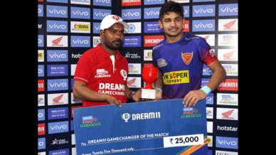 Match 59: Dabang Delhi K.C. vs U.P. Yoddha
