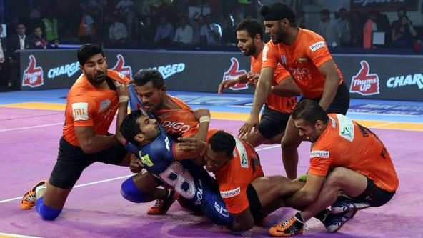 Magical U Mumba manage to see off Haryana Steelers in style