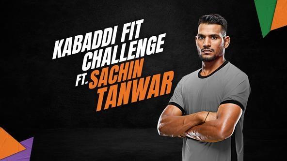 Kabaddi Fit Challenge ft. Sachin Tanwar