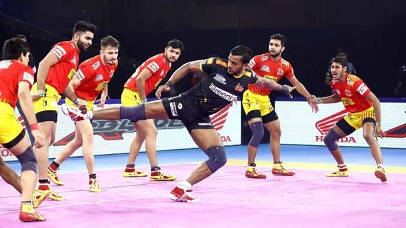 Match 126: Telugu Titans vs Gujarat Fortunegiants