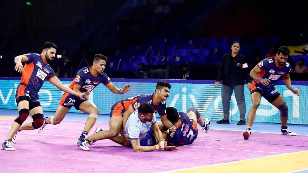 Bengal Warriors claim top spot in standings with win over Tamil Thalaivas