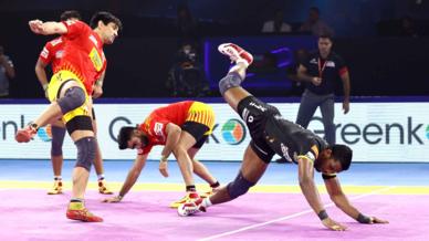 Match 126: Telugu Titans vs Gujarat Fortunegiants