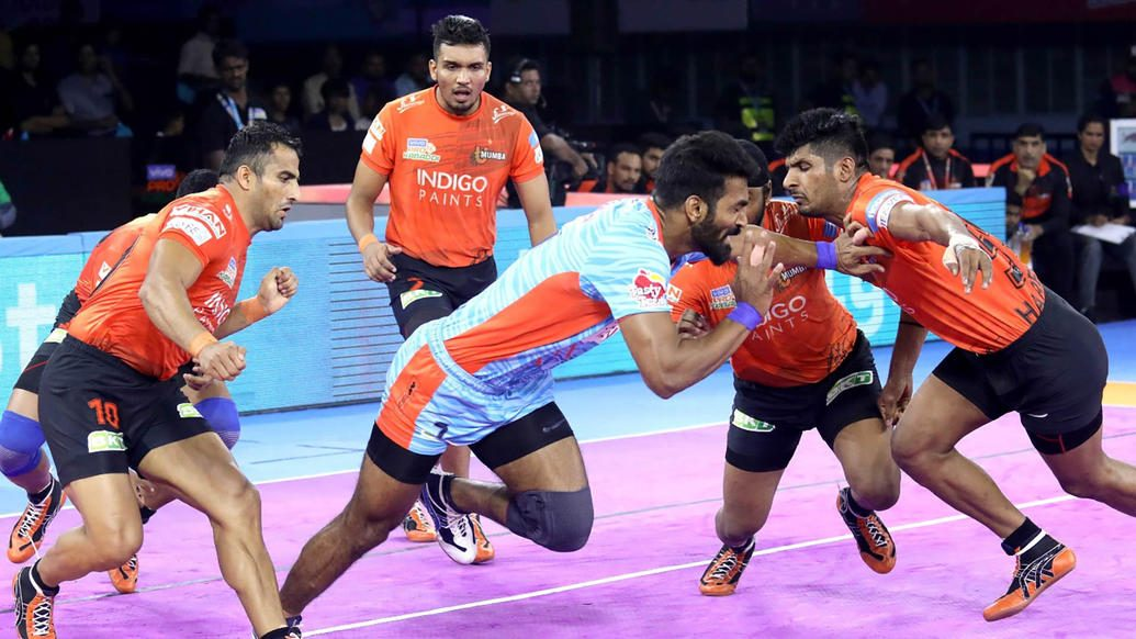 Bengal Warriors rise to second spot after edging U Mumba in a thriller