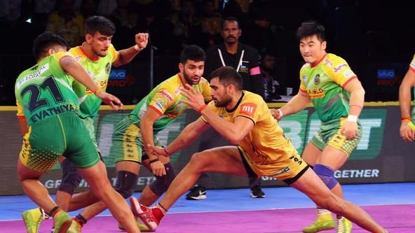 Chaudhari's charge leads Telugu Titans to victory over Patna Pirates
