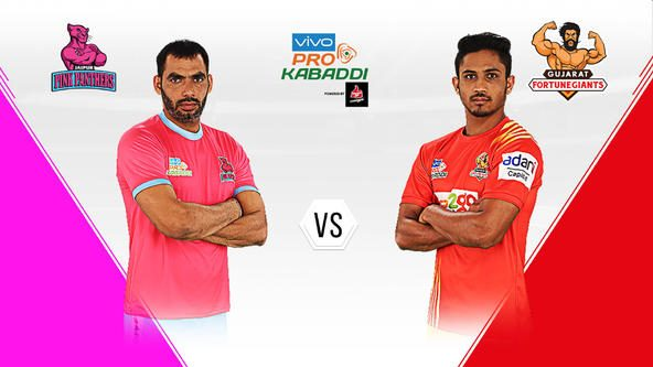 Gujarat Fortunegiants visit Jaipur Pink Panthers coming off a hat-trick of wins