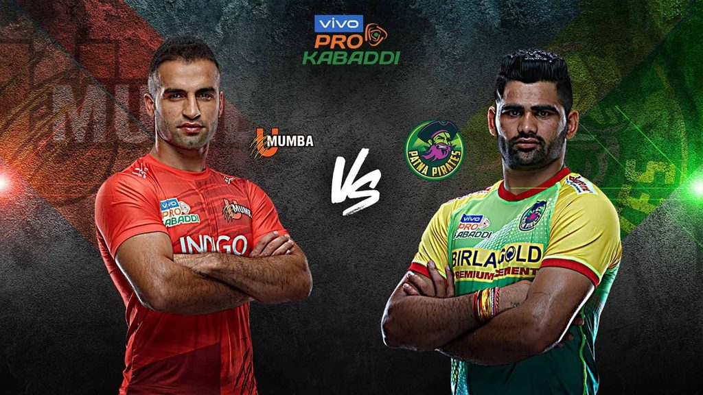 U Mumba will face Patna Pirates in Match 43 of VIVO Pro Kabaddi Season 7.