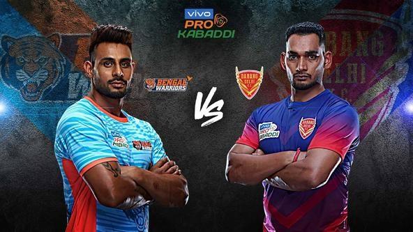 Top spot in standings up for grabs when Bengal Warriors battle Dabang Delhi K.C.