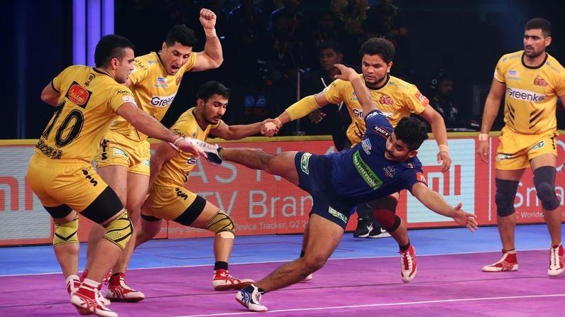 Match 105: Telugu Titans vs Haryana Steelers