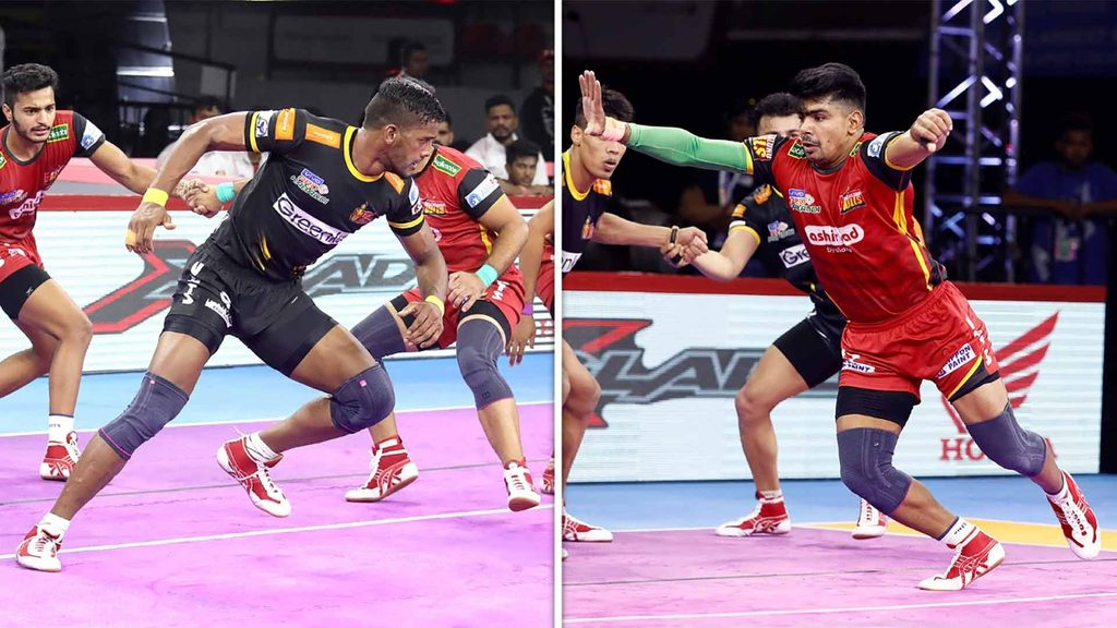 Siddharth Desai and Pawan Sehrawat put on a show in Bengaluru, finishing with 22 raid points each.