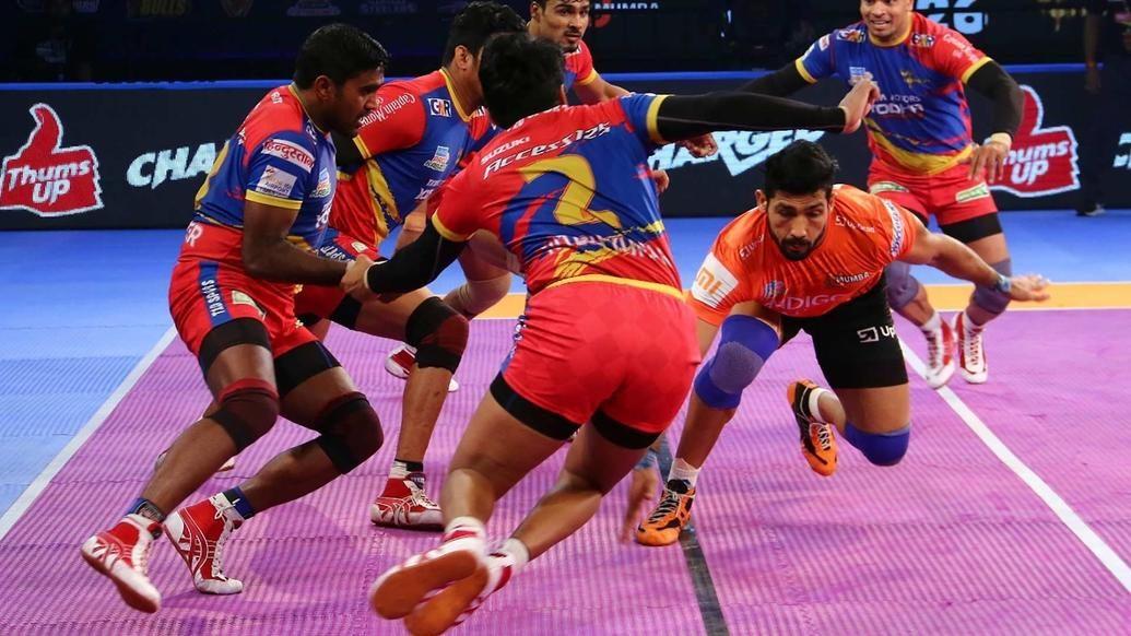 Sachin Kumar holds strong as U.P. Yoddha clinch a thrilling victory