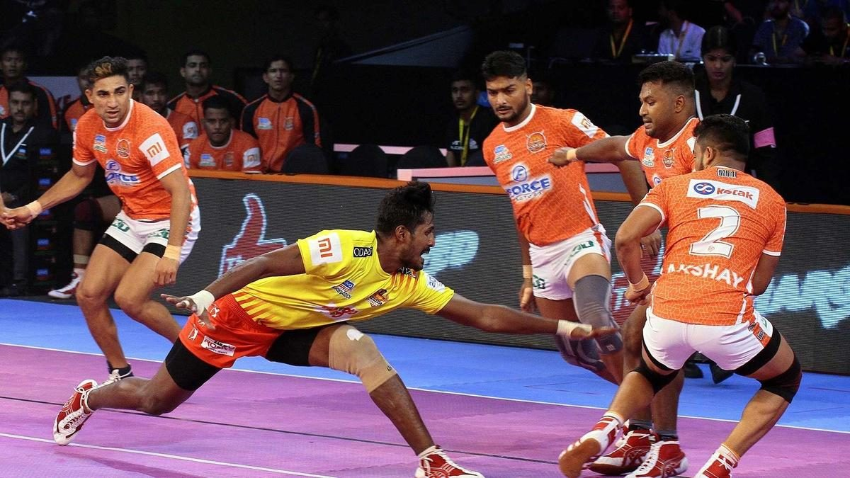 Match 22: Puneri Paltan vs Gujarat Fortunegiants
