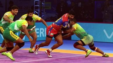 Rai's second consecutive Super 10 helps U.P. Yoddha overcome Patna Pirates