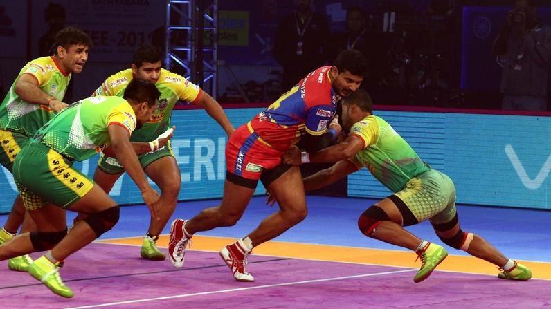 Rai's second consecutive Super 10 helps U.P. Yoddha overcome Patna Pirates
