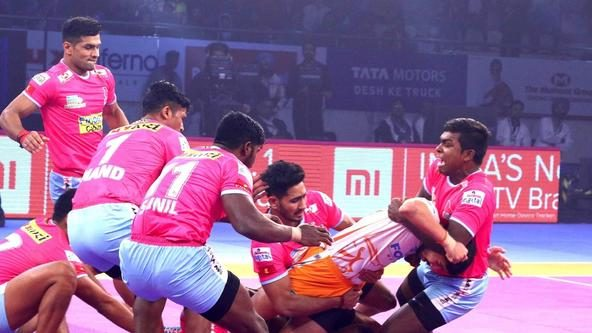 Siddhgavali's 8-point effort leads Jaipur Pink Panthers to an important victory