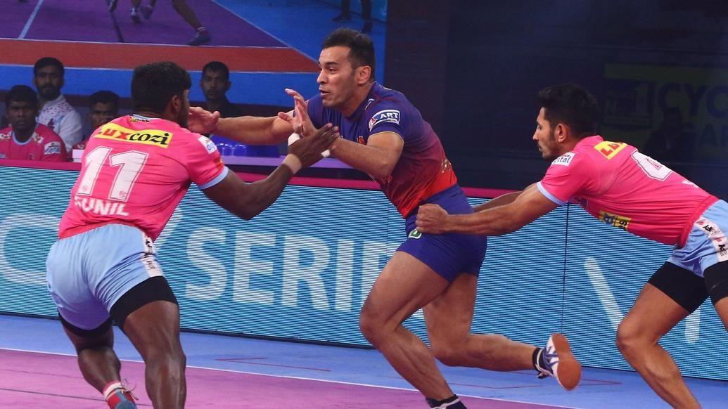 Match 121: Jaipur Pink Panthers vs Dabang Delhi K.C.