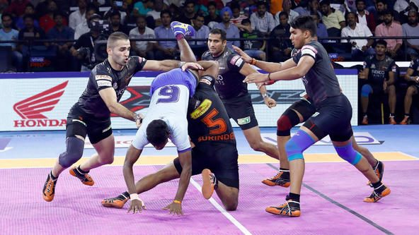 U Mumba's strong second-half display helps them overcome Tamil Thalaivas