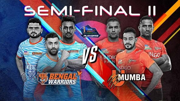 U Mumba face Bengal Warriors with momentum on their side in the second Semi-final