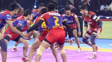 Match 39: U.P. Yoddha vs Bengaluru Bulls