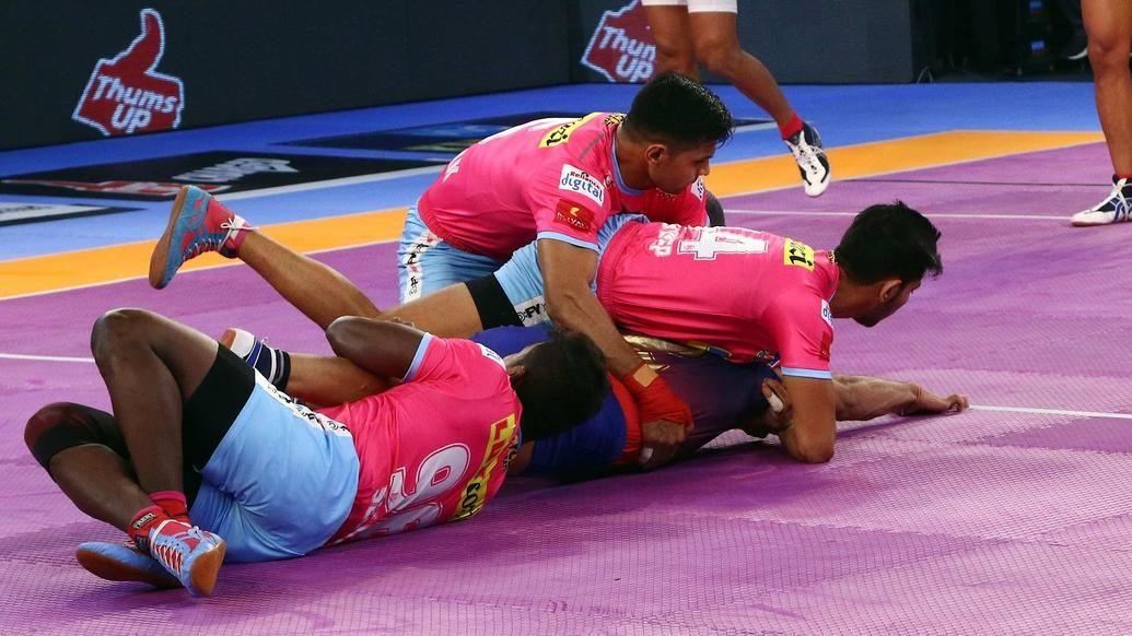 Match 89: Dabang Delhi K.C. vs Jaipur Pink Panthers