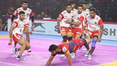 Match 40: U.P. Yoddha vs Haryana Steelers