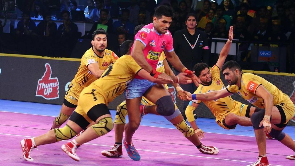 Match 103: Telugu Titan vs Jaipur Pink Panthers
