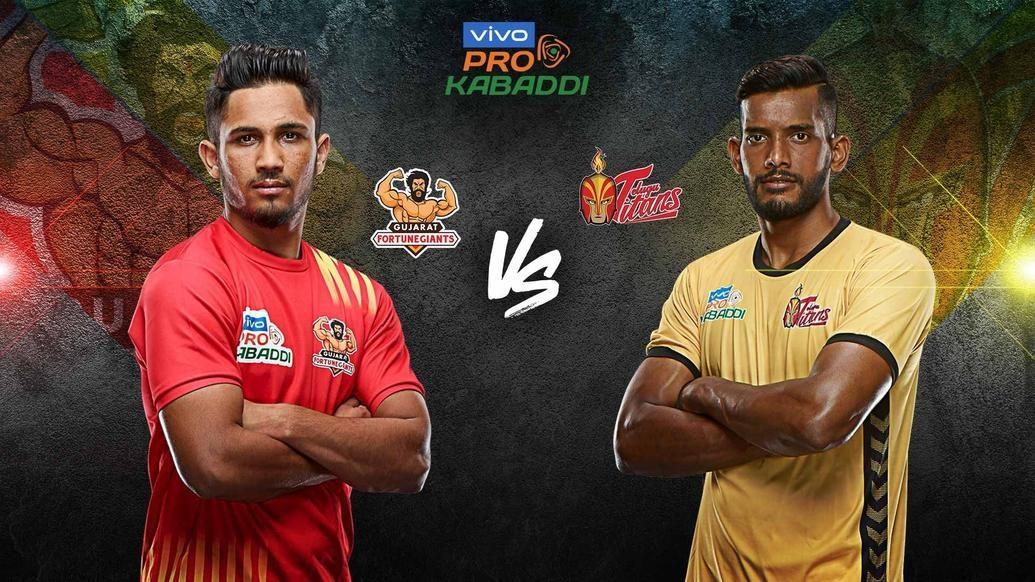 Gujarat Fortunegiants looks to turn fortunes around against Telugu Titans