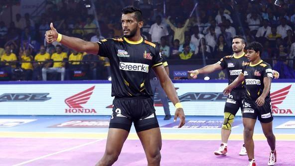 Sensational Siddharth's masterclass gives Telugu Titans win over Haryana Steelers