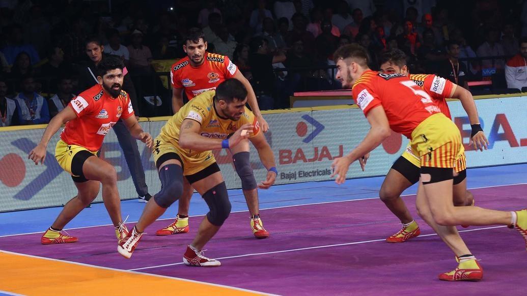 Match-100 Telugu Titans vs Gujarat Fortunegiants