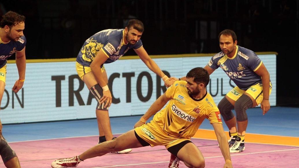 Rahul Chaudhari leads the charge as Titans defeat Thalaivas