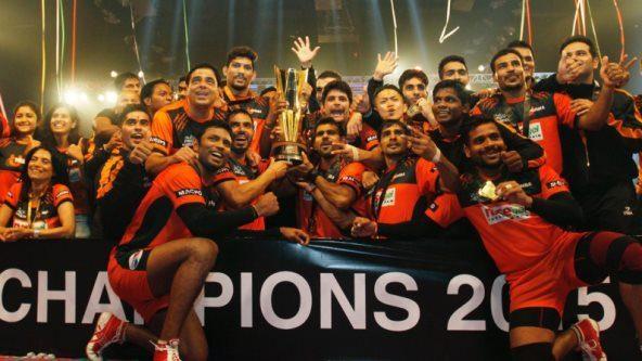 U Mumba are champions of star sports pro kabaddi season 2