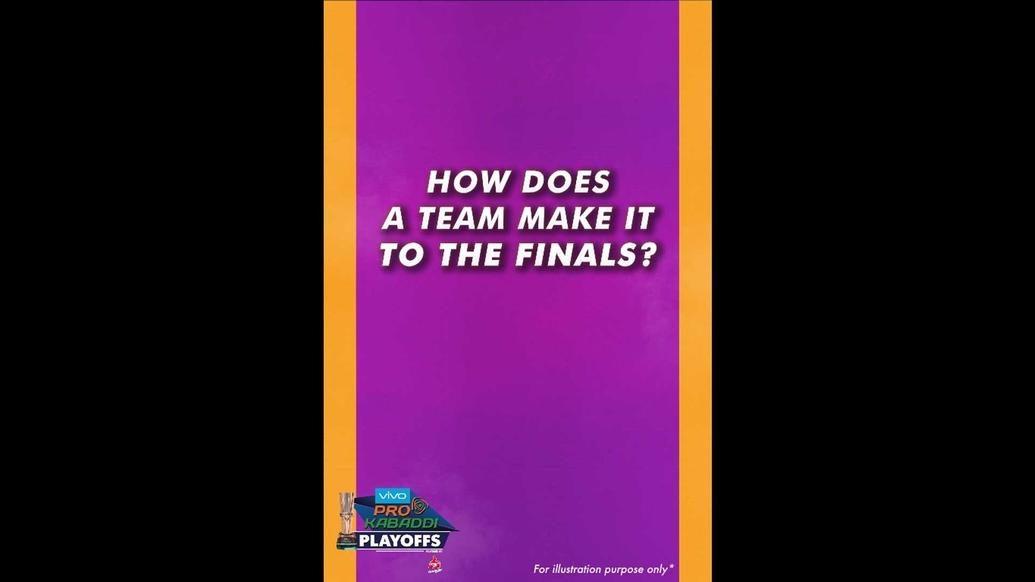 VIVO Pro Kabaddi Season 6 Playoffs