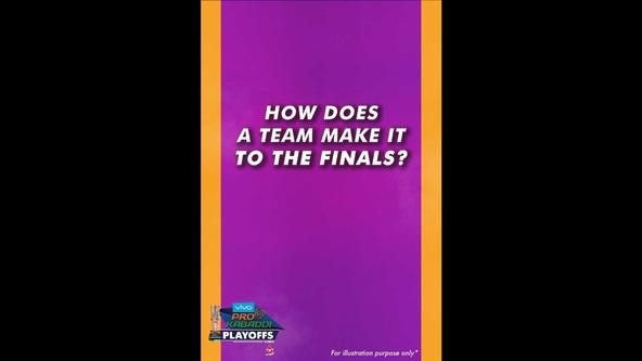 VIVO Pro Kabaddi Season 6 Playoffs