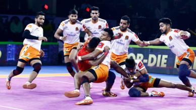 Match 28: Gujarat FortuneGiants vs Puneri Paltan