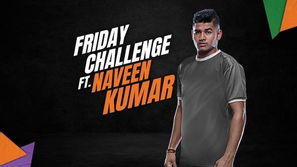 Kabaddi Fit Challenge ft. Naveen Kumar