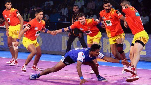 Prashanth Kumar Rai's Super 10 blows away Gujarat's defence