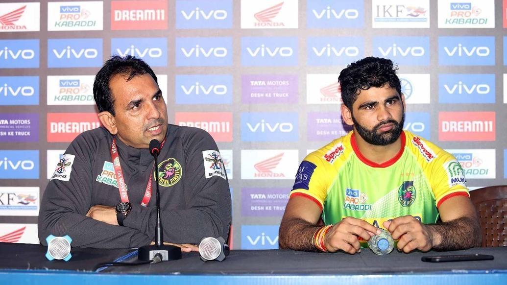 Coach Ram Mehar Singh lauds Pardeep Narwal after he crossed 1000 raid points