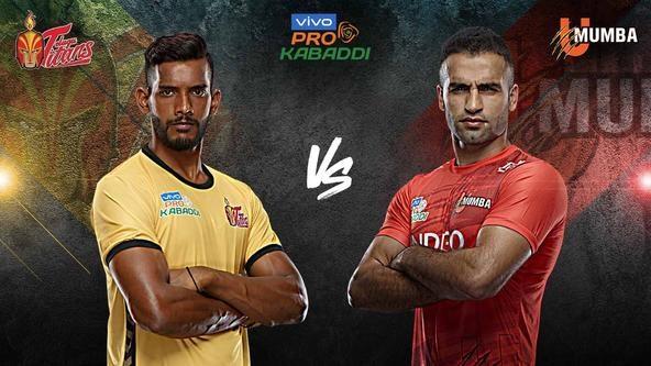 Telugu Titans host U Mumba in VIVO Pro Kabaddi Season 7 curtain-raiser