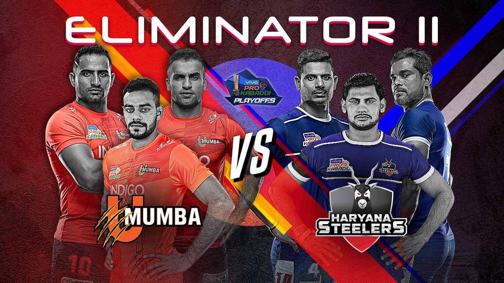 Eliminator 2 sees U Mumba battle Haryana Steelers