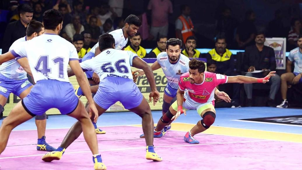Match 127: Tamil Thalaivas vs Jaipur Pink Panthers