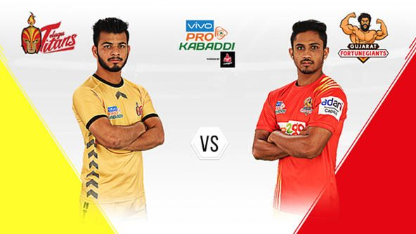 Telugu Titans face a defensively strong Gujarat Fortunegiants in first home game