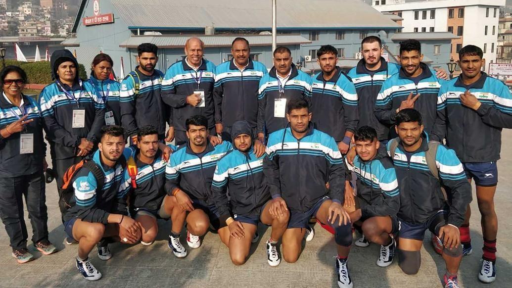 India national kabaddi team humble Sri Lanka in South Asian Games opener